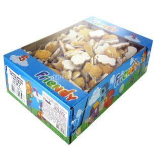 Friendi Печенье мини-мишутка, 900 г, Коробка