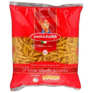 Pasta Zara Penne Rigate Piccole №60, 1 кг, Макароны Перья Паста Зара Пенне Ригате Пикколе