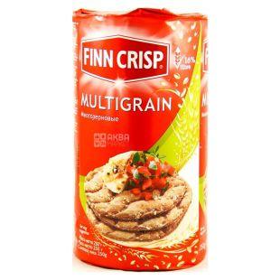 Finn Crisp, 250 г, Хлебцы, Multigrain, Многозерновые, Круглые