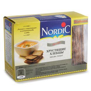 Nordic, 100 г, Хлібці, Житні