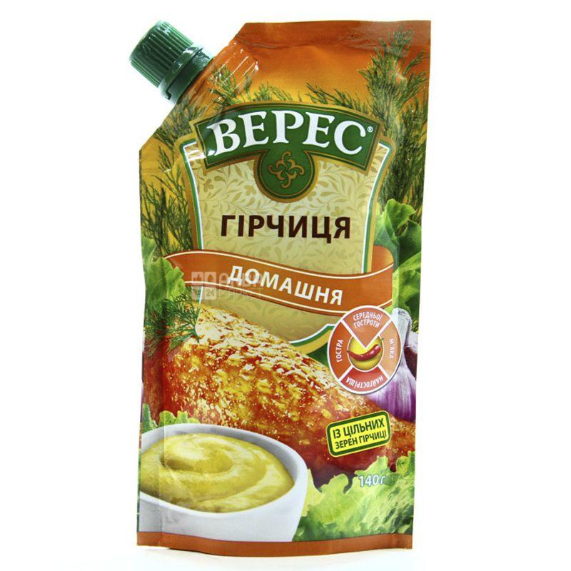 Верес, 140г, Горчица, Домашняя, М/у
