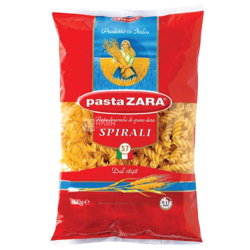 Pasta Zara Spirali №57, 500 г, Макароны Спирали Паста Зара