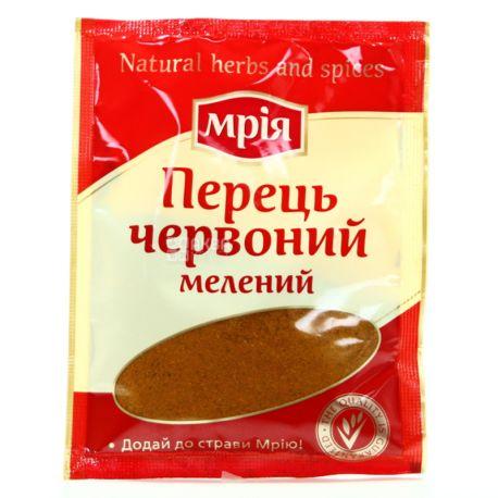 Мрия, Перец красный молотый, 20 г