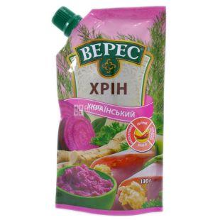 Veres, 130 g, Horseradish, Ukrainian, Spicy, doy-pack