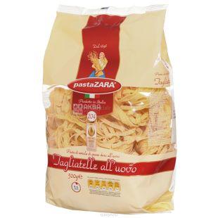 Pasta Zara Tagliatelle №204, 500 г, Макароны Лапша Яичная Паста Зара Тальятелле