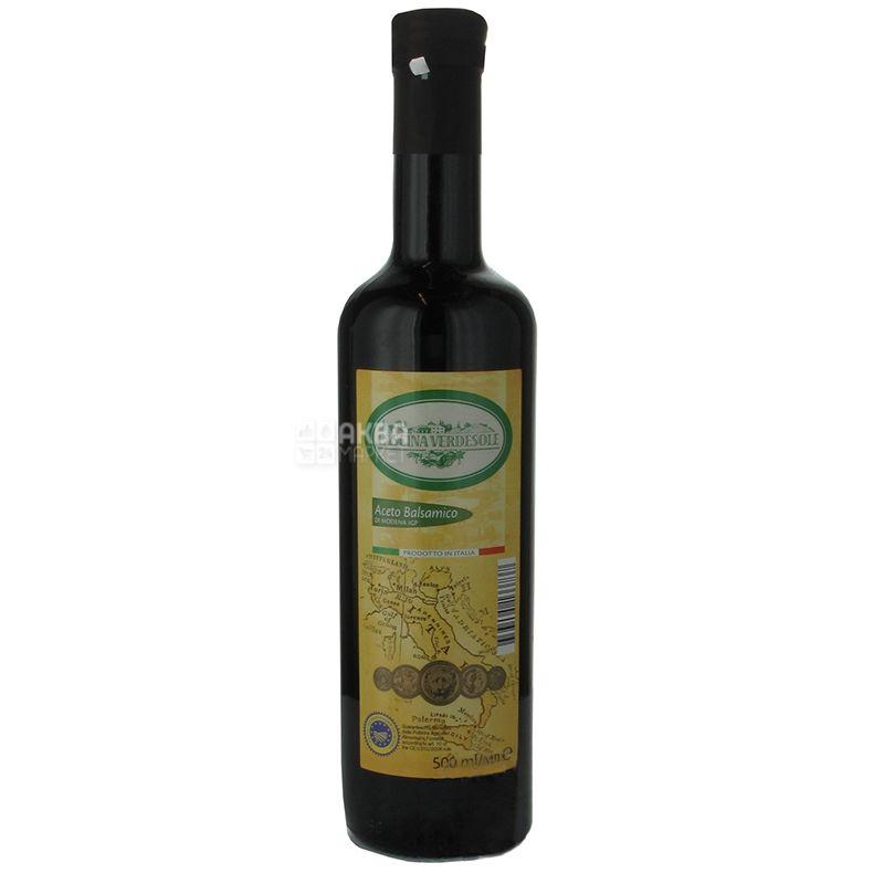 Cascina verdesole, 500 мл, Оцет бальзамічний, Із Модены, скло