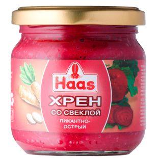 Haas, 212 мл, Хрен, С красной свеклой