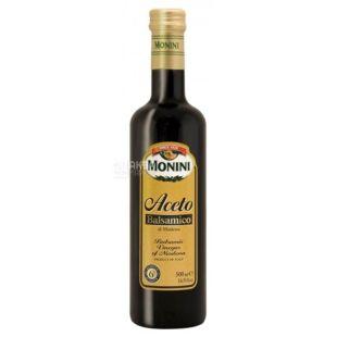 Monini, 500 мл, Оцет бальзамічний, Із Модени, скло