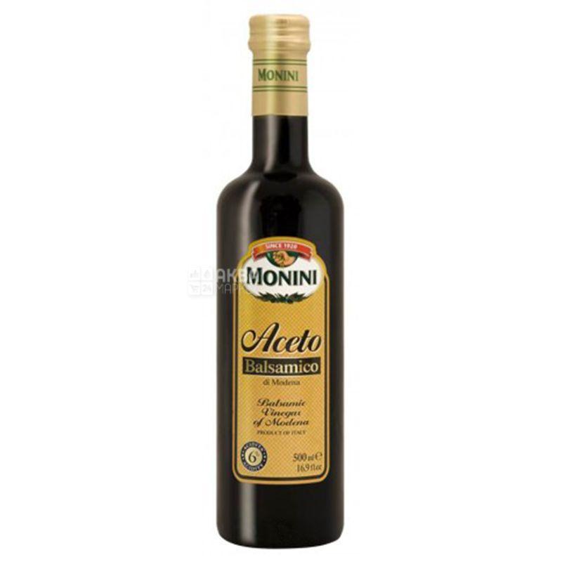 Monini, 500 мл, Уксус бальзамический, Из Модены, стекло