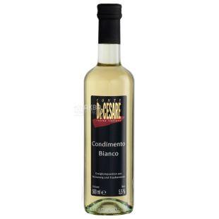 Conte DeCesare, 500 мл, Оцет винний, Balsamico Bianco, скло