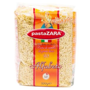 Pasta Zara макарони Алфавіт, 500г, м/у