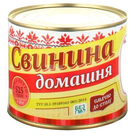 Этнические мясники Свиная тушенка Домашняя, 525г, ж/б