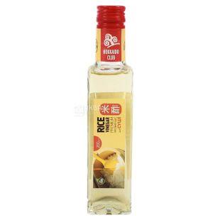 Hokkaido club Оцет рисовий, 200 мл, Скляна пляшка