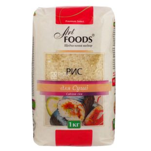 Art Foods рис для суші 1кг, пакет