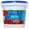 Чумак Томатная паста с солью, 25%, 1000 г, Ведро