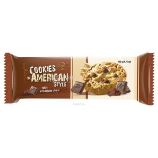 Bogutti, 135 g, Biscuits, American style (American Style), with chocolate