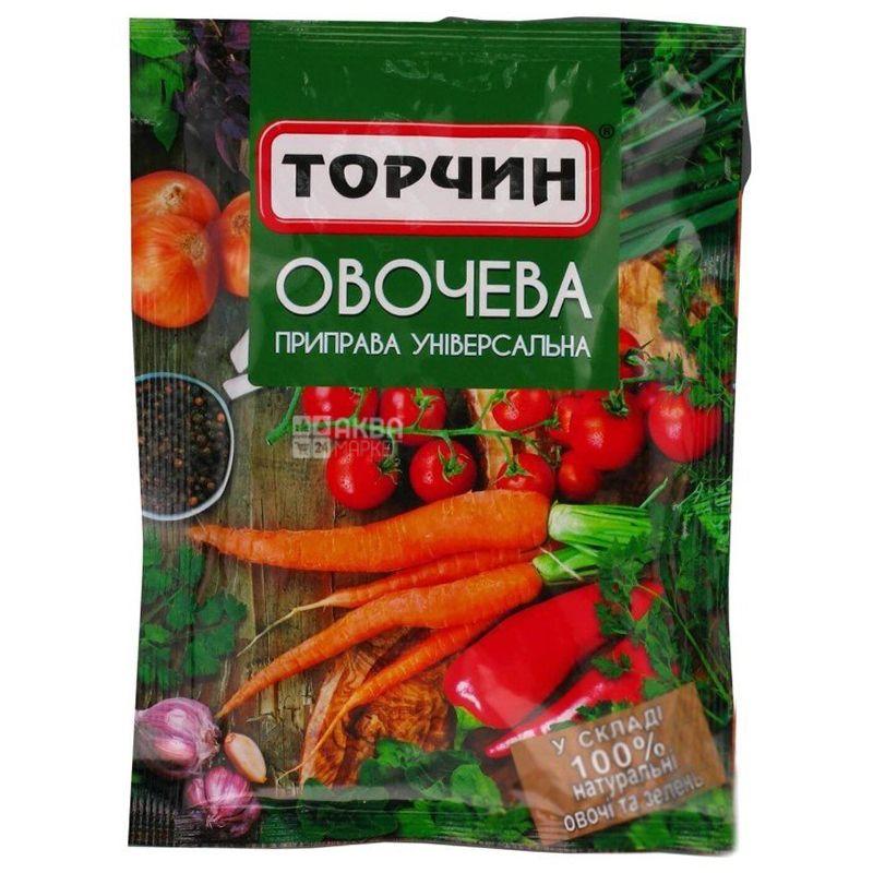 Торчин, 80 г, Приправа, Овощная, Универсальная, м/у
