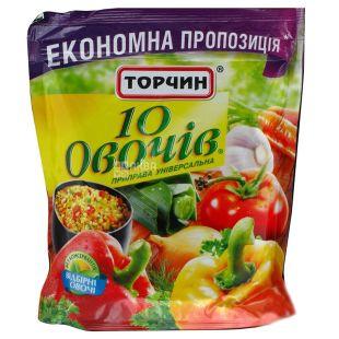 Торчин, 250 г, Приправа, 10 овочів, Універсальна, дой-пак