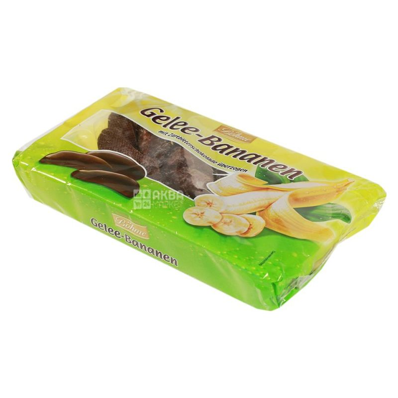 Halloren, 250 г, Мармелад, со вкусом банана в шоколаде