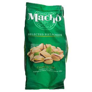 Macho Фисташки жареные соленые, 200 г