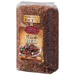 World's Rice, 500 г, Рис, Червоний, м/у