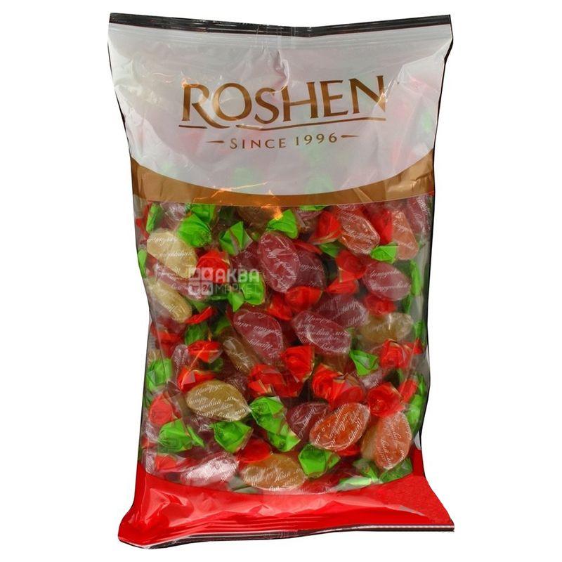 Roshen, 1 кг, Карамель леденцовая, Цитрус микс