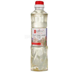Kaiseki Оцет рисовий для суші, 500 мл, Скляна пляшка