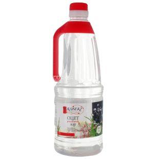 Kaiseki Оцет рисовий для суші, 1 л, Скляна пляшка