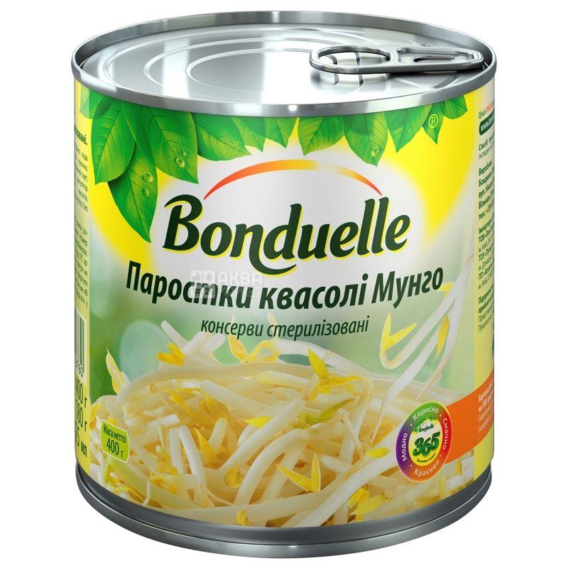 Bonduelle, 400 г, Ростки фасоли Мунго, ж/б