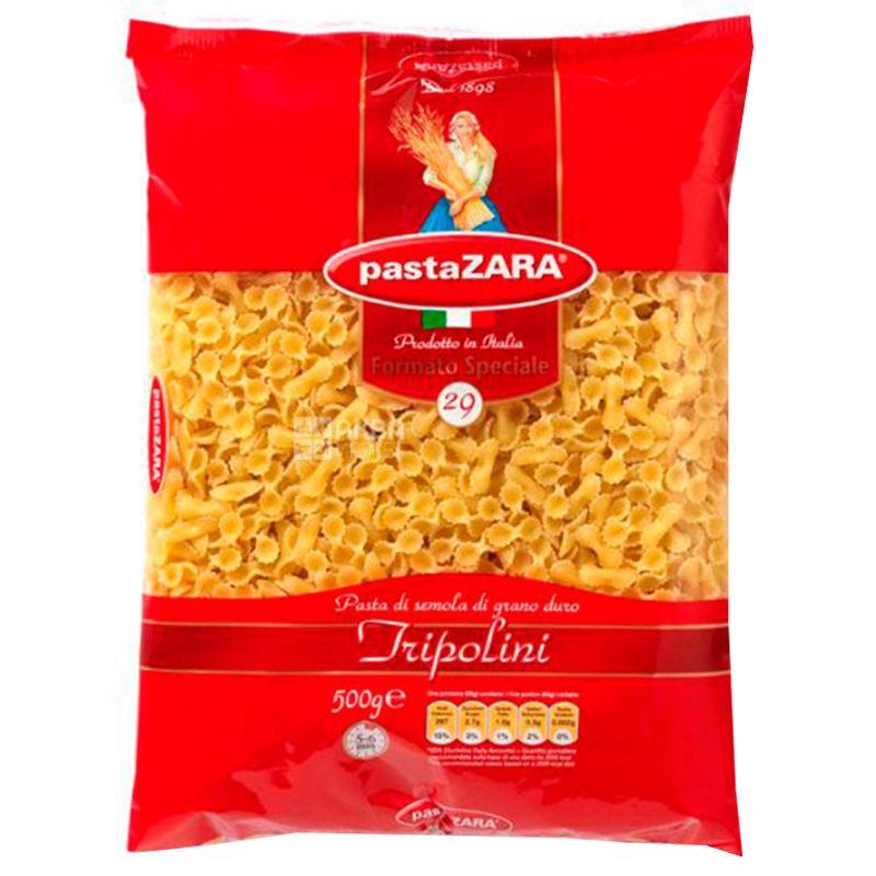 Pasta Zara Tripolini №29, 500 г, Макароны Маленькие бантики Паста Зара Триполини