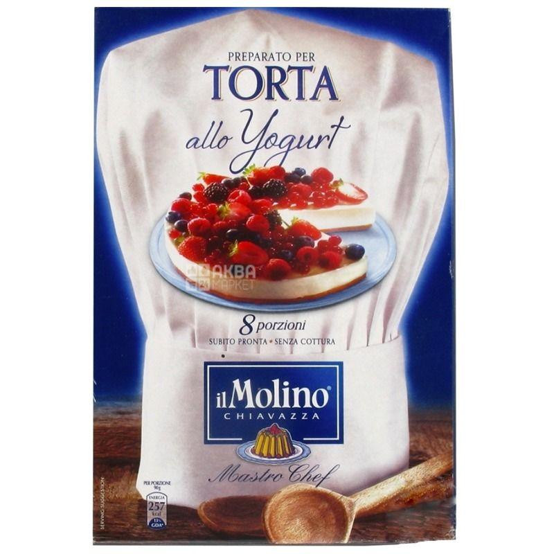 il Molino,280 г, Смесь для йогуртовых кондитерских изделий
