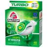 Раптор, 1 шт., Комплект, Turbo, Пристрій + рідина без запаху, 40 ночей, картон