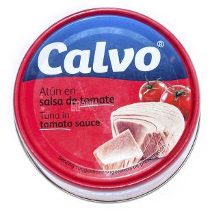 Calvo, 160 г, Тунец, В томатном соусе