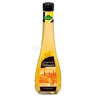 Kuhne Уксус бальзамический белый 5% Balsamico Bianco, 500 мл, стеклянная бутылка