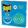 Raid, 10 pcs., Mosquito coils, cardboard