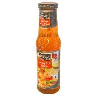 Exotic Food соус Спринг Ролл, 250 мл, стеклянная бутылка