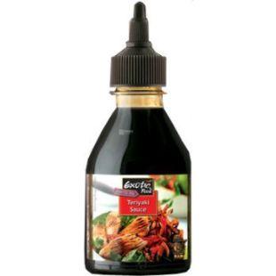 Exotic Food Соус Теріякі, 250 мл, скляна пляшка