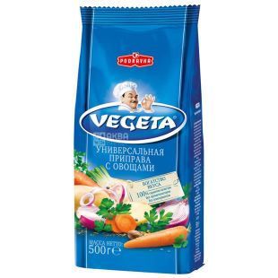 Vegeta, 500 г, Приправа з овочів, Універсальна, м/у