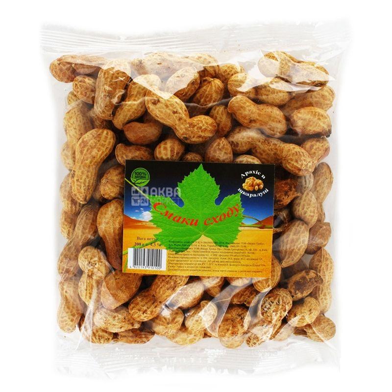Вкусы Востока Арахис в скорлупе, 200 г