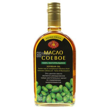 Golden Kings of Ukraine олія соєва, 500 мл, скляна пляшка