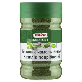 Kotanyi Crushed Basil, 190 g, Glass jar