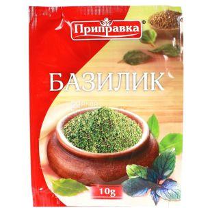 Seasoning Basil, 10 g, multi-layer package