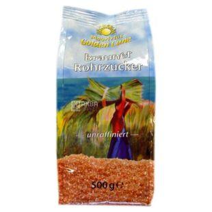 Golden Cane Цукор тростинний, Коричневий пісок, 500 г, Пакет
