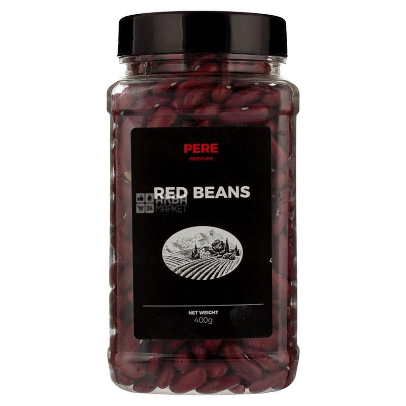 Pere, Red beans, 400 г, Пере, Фасоль красная, ПЭТ