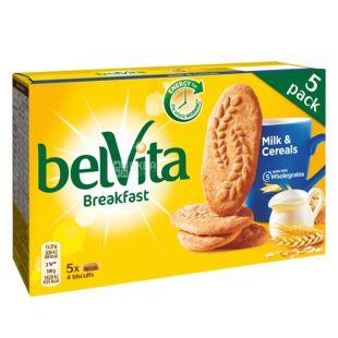 Belvita Печенье мультизлаковое, 225 г, Коробка