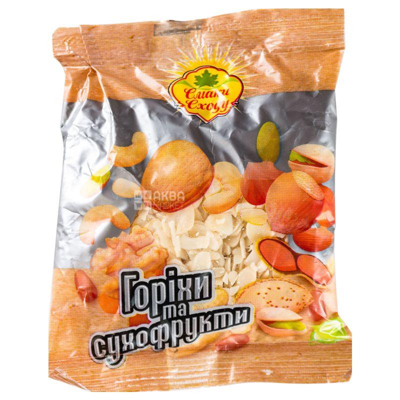 Вкусы востока Миндальные хлопья, 100 г, Обертка