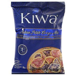 Kiwa Асорті картопляних чипсів, 50 г, м/у