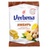 Verbena lollipops Ginger with vitamin C, 60 g, m / y