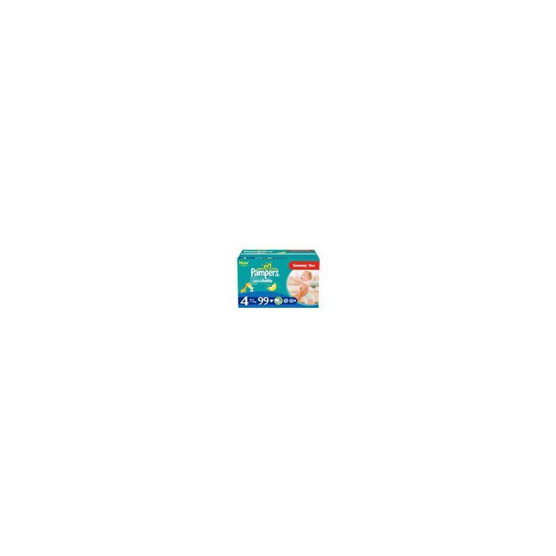 Pampers Active Baby Dry, 99 шт., Памперс, Подгузники-трусики, Размер 4, 7-14 кг