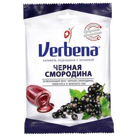 Verbena леденцы Черная смородина с витамином С, 60 г, м/у